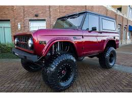 bronco jeep 2017 1976 ford bronco for sale on classiccars com