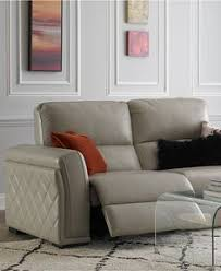 maddie top grain leather power reclining sectional home