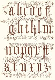 16th century from wood engravings details typography