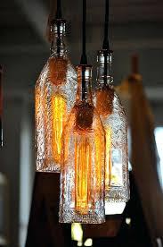 Wine Bottle Light Fixtures How To Make Wine Bottle Pendant Lights U2013 Eugenio3d