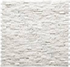 Natural Stone Backsplash Tile by Beaux White Stone Backsplash Kitchens Pinterest Stone