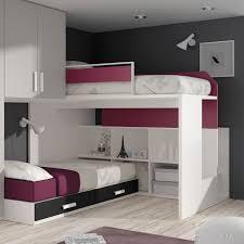 corner bunk beds with modern child u0027s unisex and minimalist storage