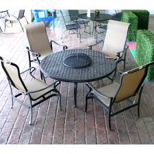 awesome brilliant patio furniture with fire pit table sedona fire