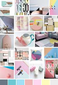 mood board spring summer trend colours soft pop pinterest