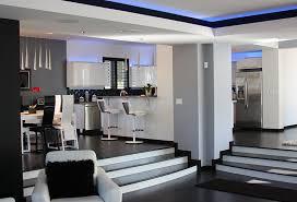 Custom Home Interior Library Furniture Images Plus Design For - Custom home interior