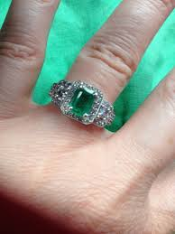 green stone rings images Emerald or green stone engagement rings please share yours JPG