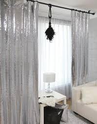 Glitter Curtains Ready Made ткани с пайетками идеи применения 527 фотографий Decor