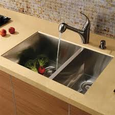 kitchen sink and faucet combinations vg15025 16 stainless steel zero edge 6040 bowl kitchen sink and faucet combo plan jpg
