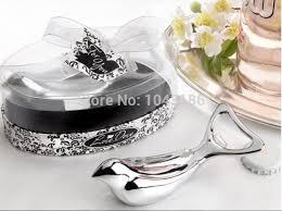 wholesale wedding favors wholesale wedding favor dove silver chrome bottle opener in