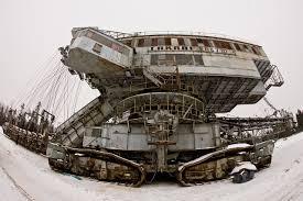 russia lopatinskii rudnik mine bucket chain excavator takraf ers