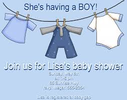 design baby boy shower invites