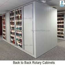 rotating office file storage cabinet rotary cabinets sms 15 xlt