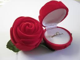 coffret mariage coffret à bague velours forme ecrin cadeau rangement