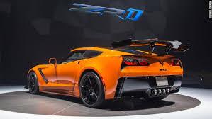 corvette zr1 yellow gm unveils fastest corvette nov 13 2017
