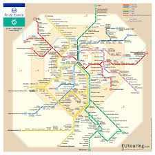 Maps For Sncf And Ratp Rer Train Maps For Paris And Ile De France