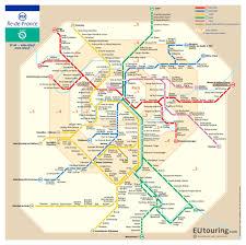 Map Of Tour De France by Sncf And Ratp Rer Train Maps For Paris And Ile De France