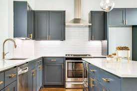 kitchen cabinets with gold hardware gray kitchen cabinets design gallery designing idea