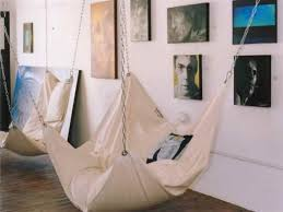 how to make diy le beanock indoor hammock for the home