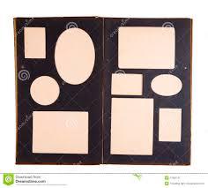 open antique empty photo album pages stock photos image 27070283