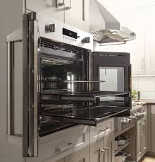 Ada Compliant Kitchen Cabinets Monogram Zet1fhss 30 Inch Built In French Door Convection Oven