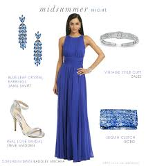 blue formal dress for a wedding guest tie dress black tie and