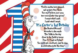 dr seuss 1st birthday dr suess 1st birthday postcard invitation by pinkbuckcreations
