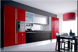 red kitchen cabinets modern kitchen colours full size of cabinet