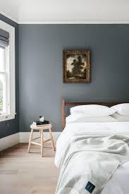 Contemporary Blue Bedroom - wall colour of bedroom memsaheb net