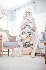 pink tree decor ideas southern living