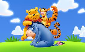 winnie pooh friends eeyore tigger cartoon art images