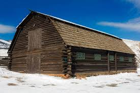 free picture wood snow winter house barn bungalow wooden