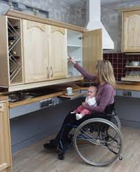 Kitchen Cabinet Lift Freedom Lifts Systems For The Kitchenuniversal Design Style