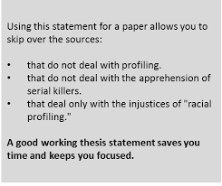 step 3 writing a thesis statement a infopower sjsu research