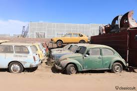 old volkswagen type 3 interstate vw junkyard california classiccult