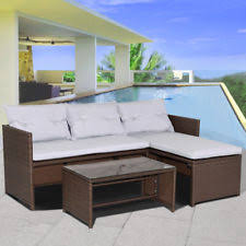 Outdoor Sofa Sets by Patio U0026 Garden Furniture Ebay