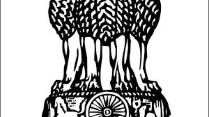 national emblem of india drawing pictures to color on indian
