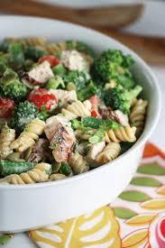 Cold Pasta Salad Dressing Cold Turkey U0026 Broccoli Salad With Lemon Tahini Dressing Eat In
