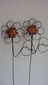 226 best wire art flowers images on pinterest wire wire