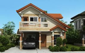 two storey house two storey house plan with balcony home design