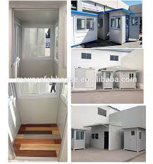 security guard house floor plan gh121224 china building prefabricated security guard house plans