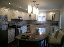 Kitchen Cabinet Manufacturers Toronto by Kirkland Client Has Oak Kitchen Cabinets Painted Cabinet Exle