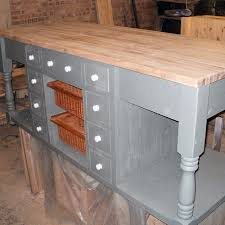 shabby chic kitchen island kitchen furniture by black barn crafts norfolk