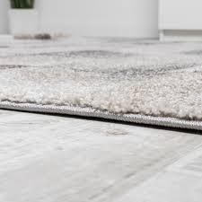 Wohnzimmer Grau Creme Designer Teppich Modern Wohnzimmer Teppiche Kurzflor Karo Meliert