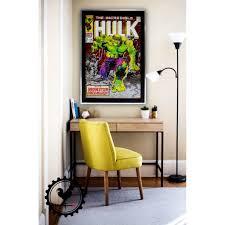 Comic Book Room Decor Incredible Hulk Poster Marvel Hulk Comic Book Poster Custom