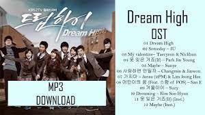 download mp3 full album ost dream high dream high ost mp3 download youtube