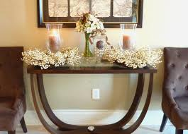 Entry Way Table Decorating by Round Entry Table Decorating Ideas Round Entry Table Decorating