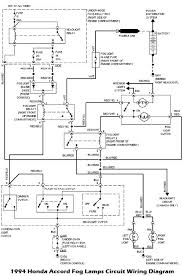 1994 honda accord fog lamps circuit wiring diagram