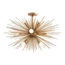 100 18 light starburst chandelier mid century modern mobile