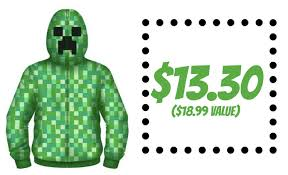 target 13 30 boys u0027 minecraft hoodie shipped 19 value