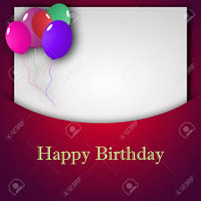 birthday wishes templates template for happy birthday greeting card with place for text